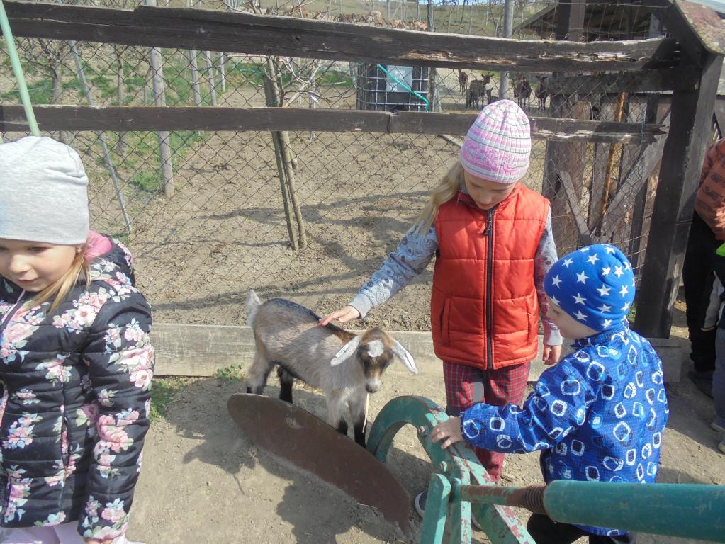 Návštěva kozí farmy duben 2019