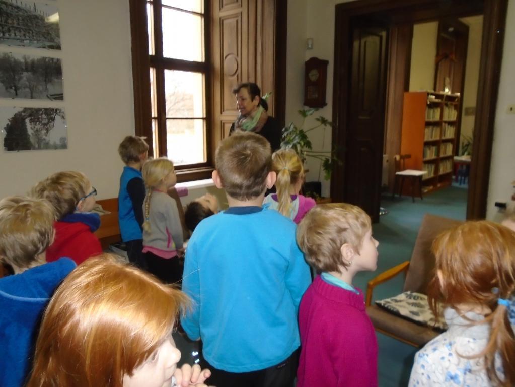Návštěva knihovny ve Slavkově u Brna