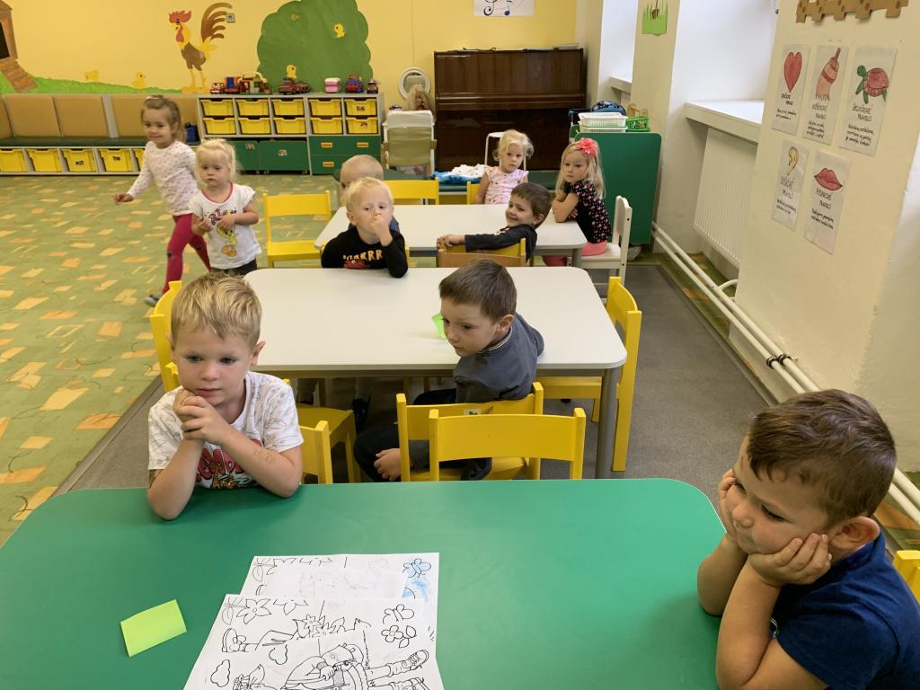 Náš 1.den ve školce